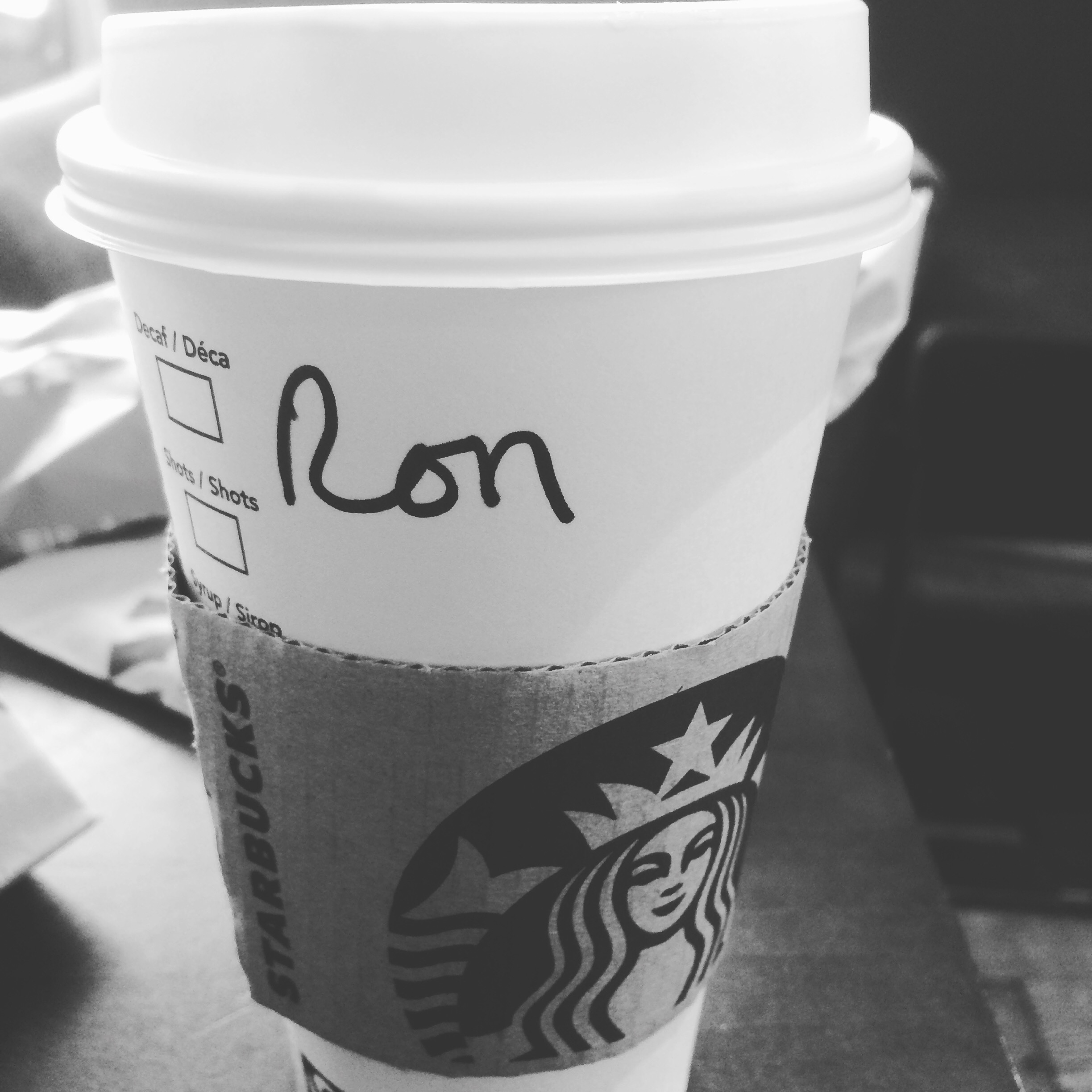 Coffee for Ron