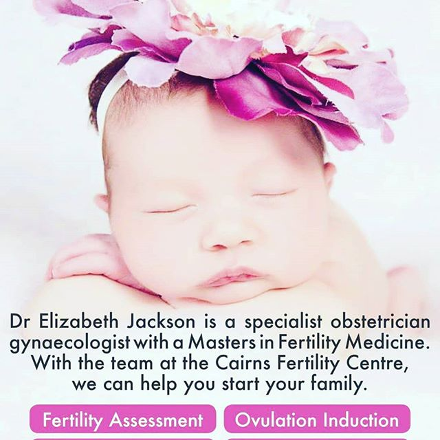 🐝Trying to make a baby? Call our friendly staff for an appointment 4041 5081.   Fertility Assessment   Ovulation Induction   In-utero Insemination   IVF / ICSI  Dr Elizabeth Jackson is a specialist obstetrician gynaecologist with a Masters in Fertility Medicine. With the team at the Cairns Fertility Centre, we can help you start your family.  www.DrElizabethJackson.com  #drelizabethjackson #fertility #cairns #women #baby #ivf #fertility