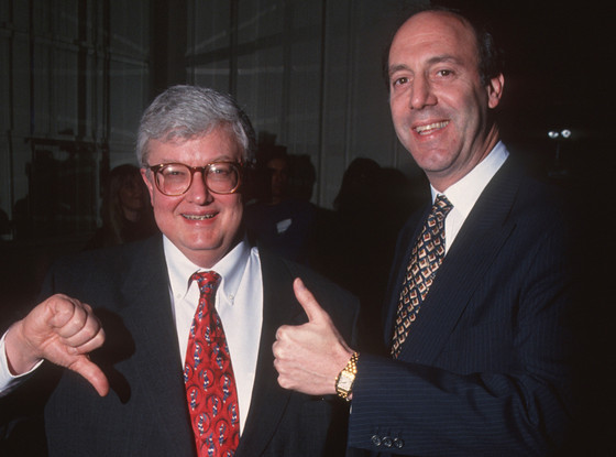Roger Ebert and Gene Siskel, film critics and former hosts of  At the Movies.