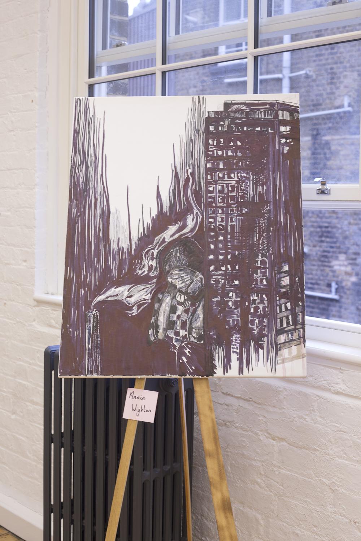 Artist Annie Wighton