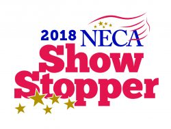 The Beacon360 Spark won a NECA 2018 ShowStopper Award! Click logo for details -