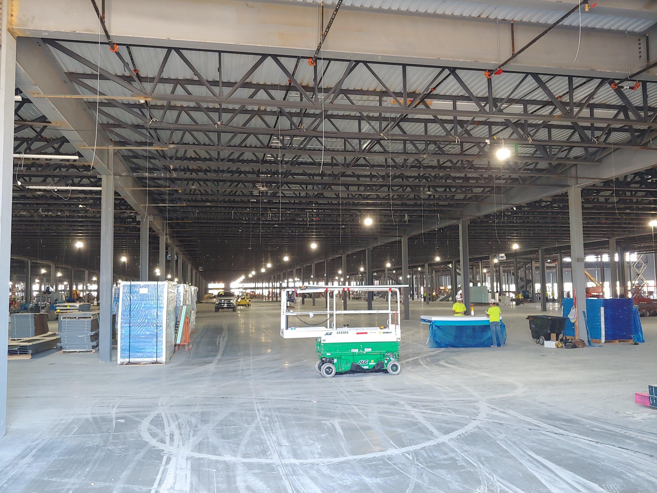 Highbay's on the Ohio Distribution Center Jobsite