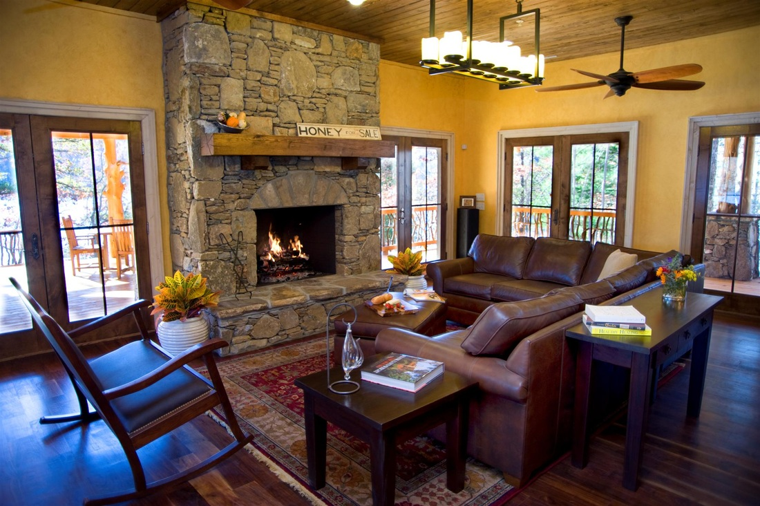 14009 Camp Cullowee Cottage | Amicalola Home Plans | © Klippel Residential Design