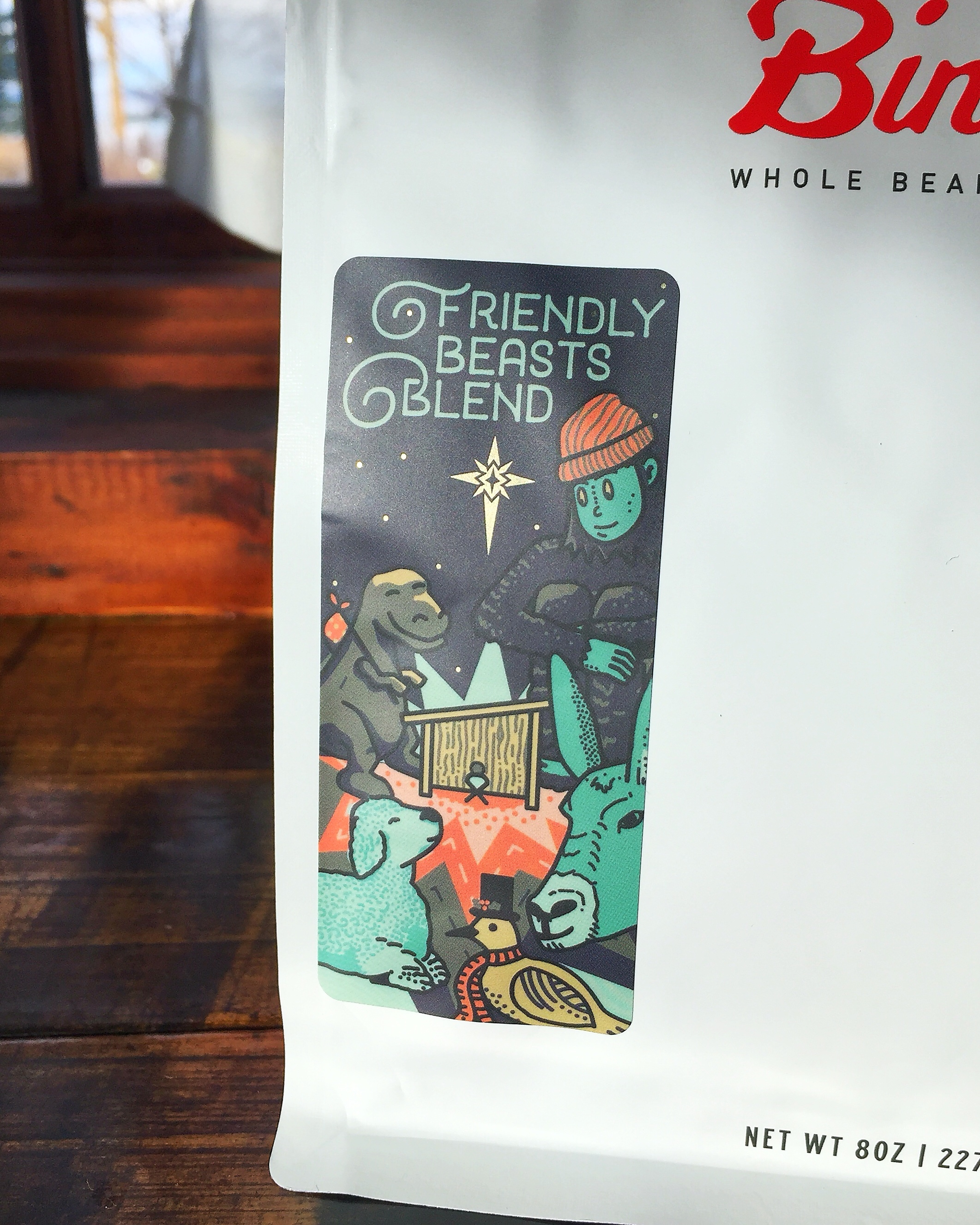 Friendly Beasts Blend for Bindle Coffee