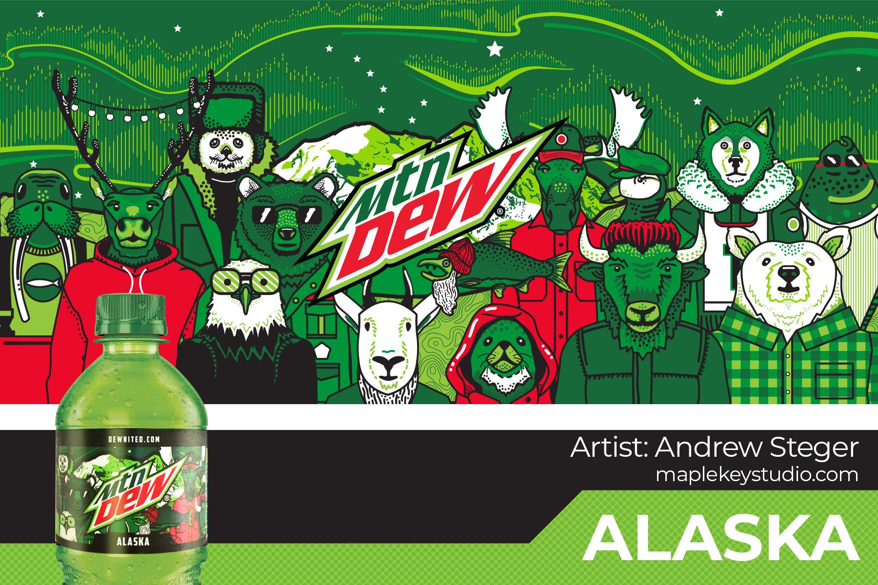 Limited Edition: Alaska Bottle Design