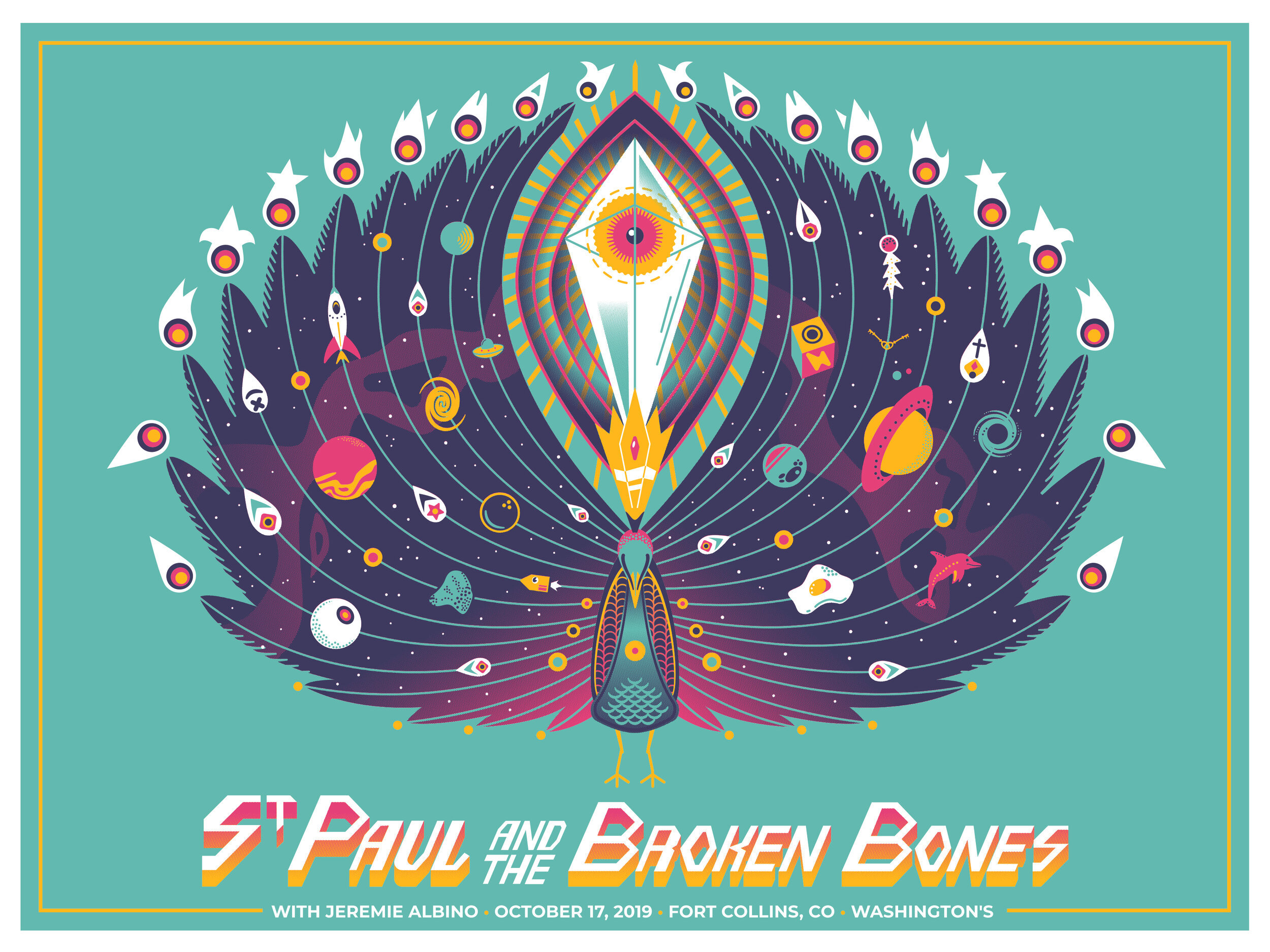 Limited Edition St. Paul and the Broken Bones Poster