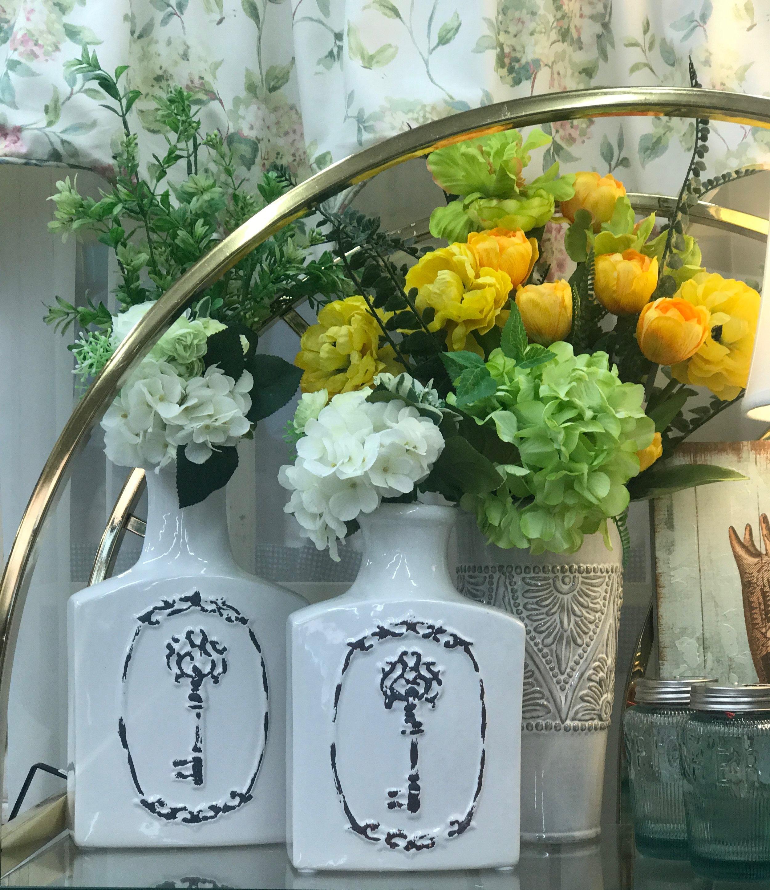 Key Flower Vases