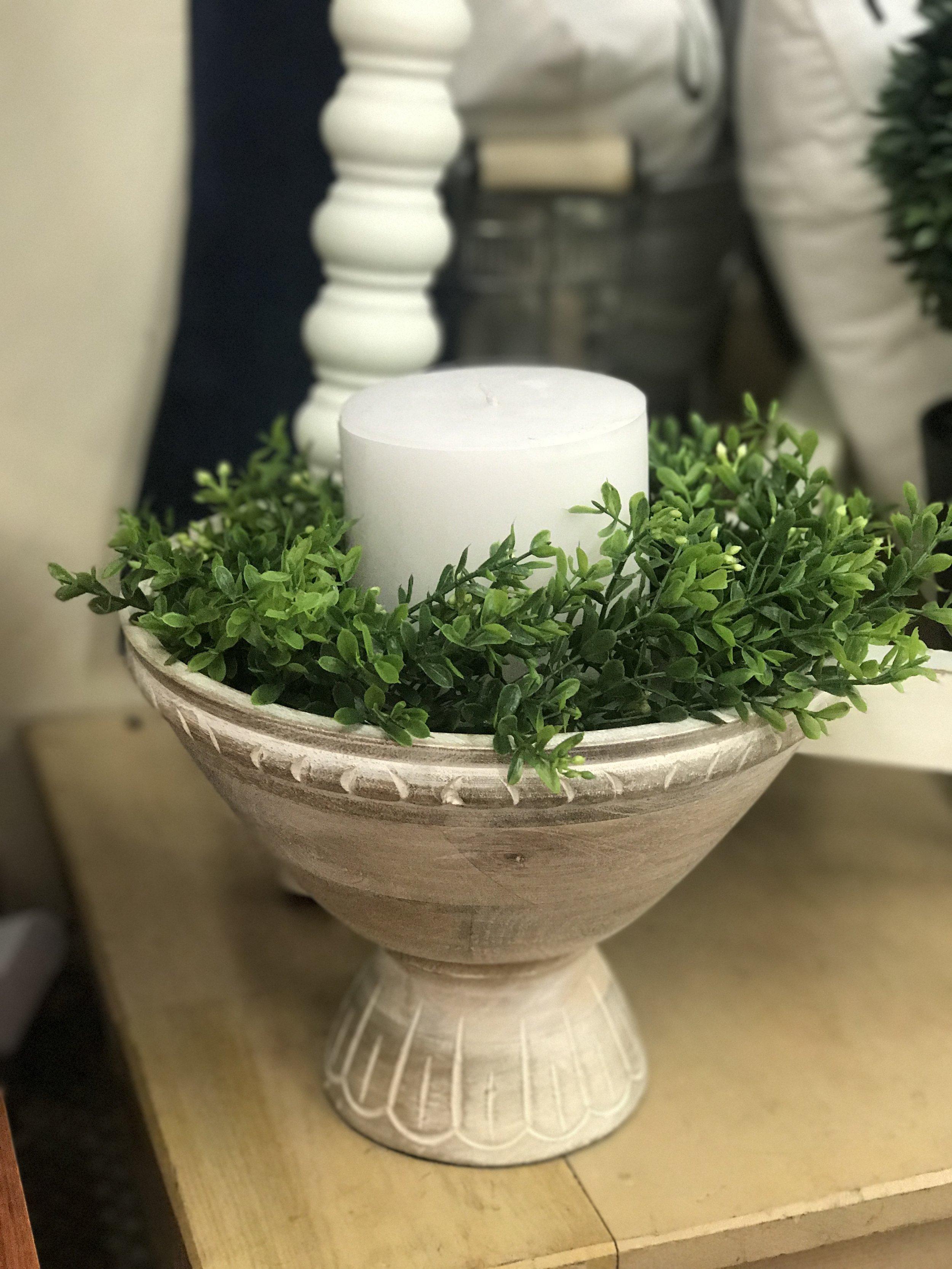 Mudpie Wooden Bowl - Centerpiece