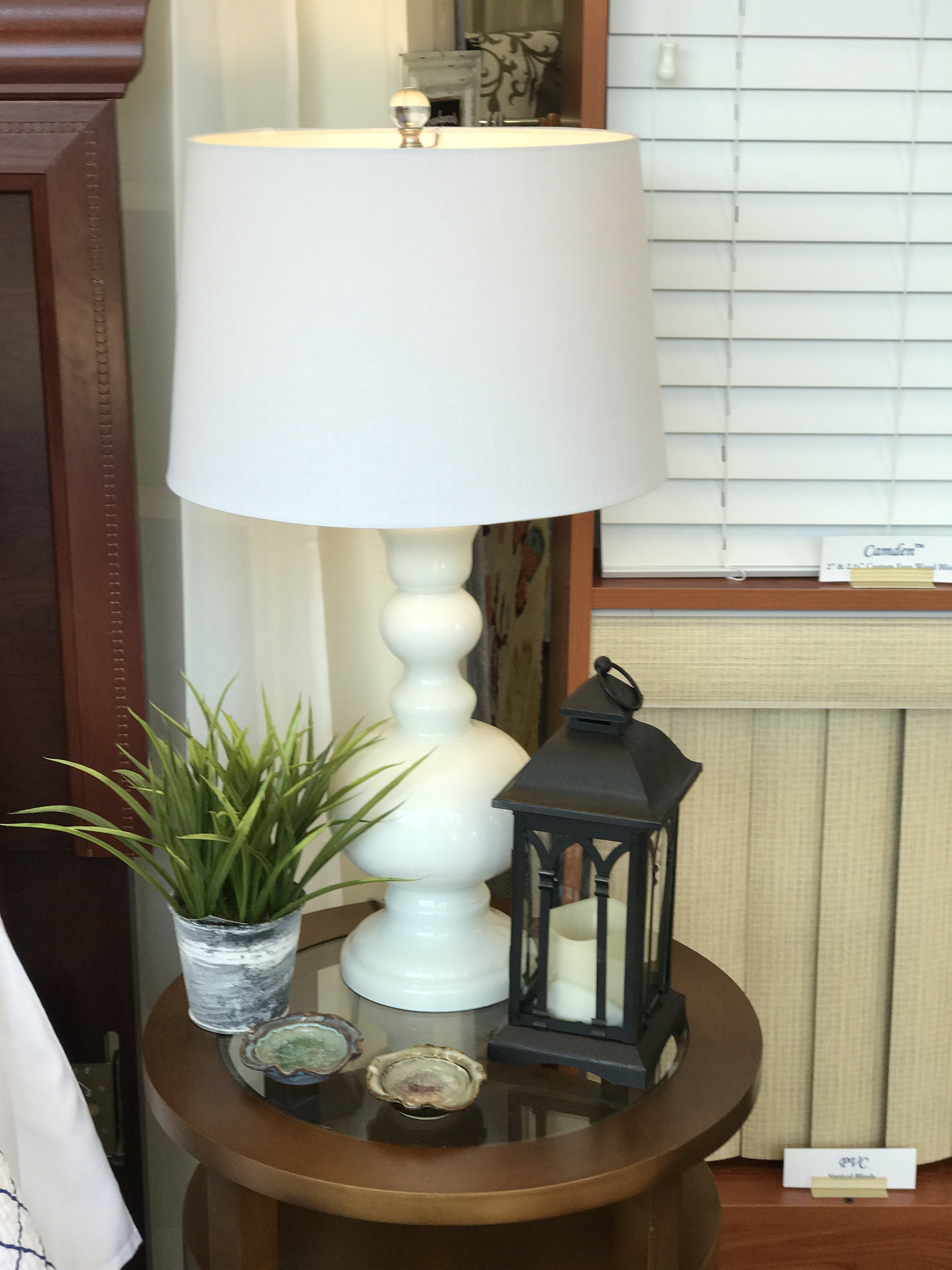 White Lamp - Accents