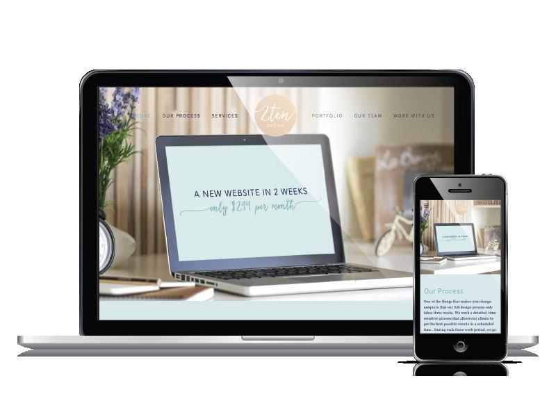 2ten Design Responsive Website Design