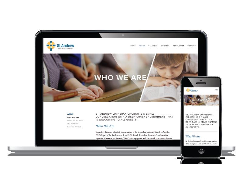 St Andrew Responsive Website Design