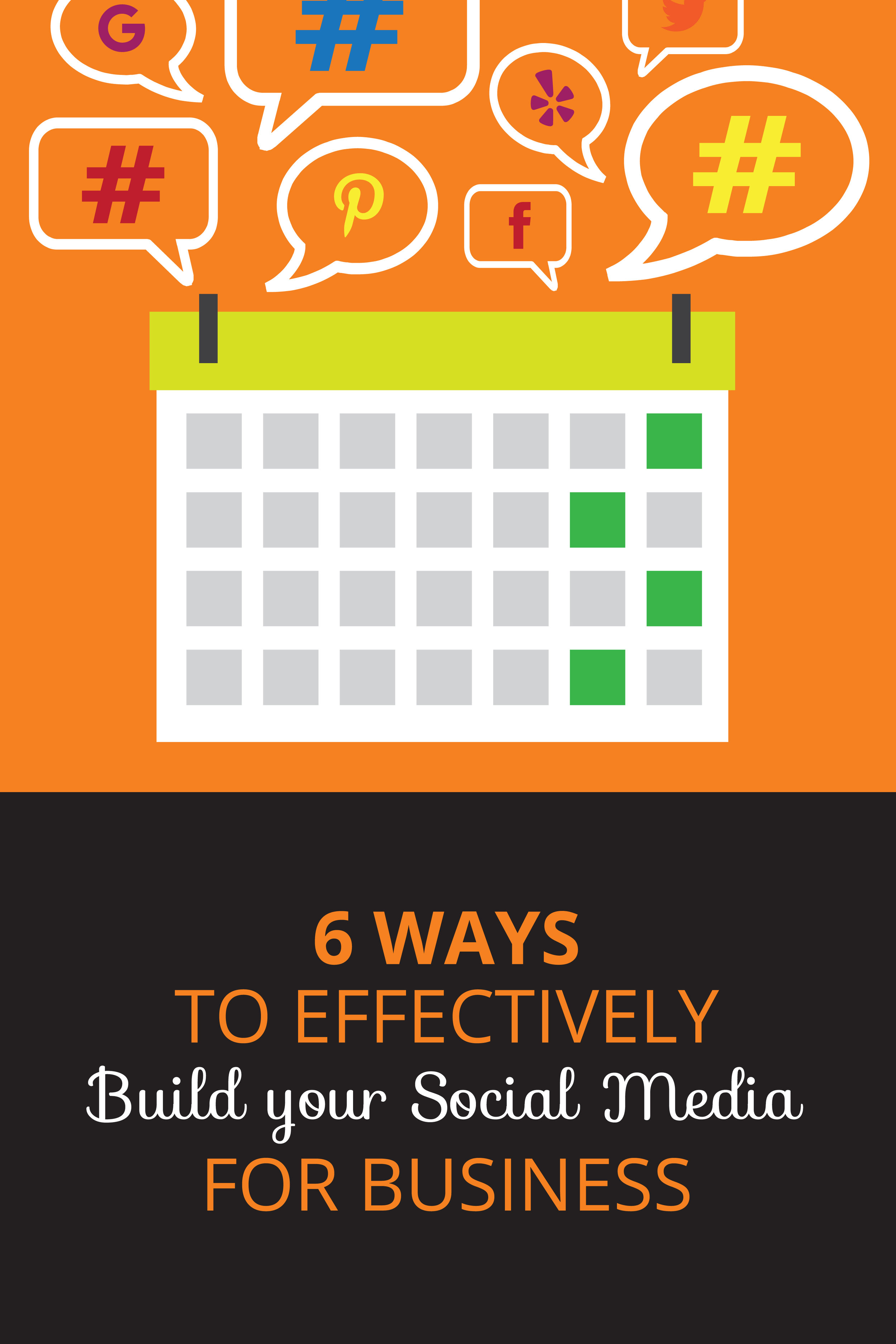Ways to build your social media to bring in customers & leads. Small Business social media media tips.