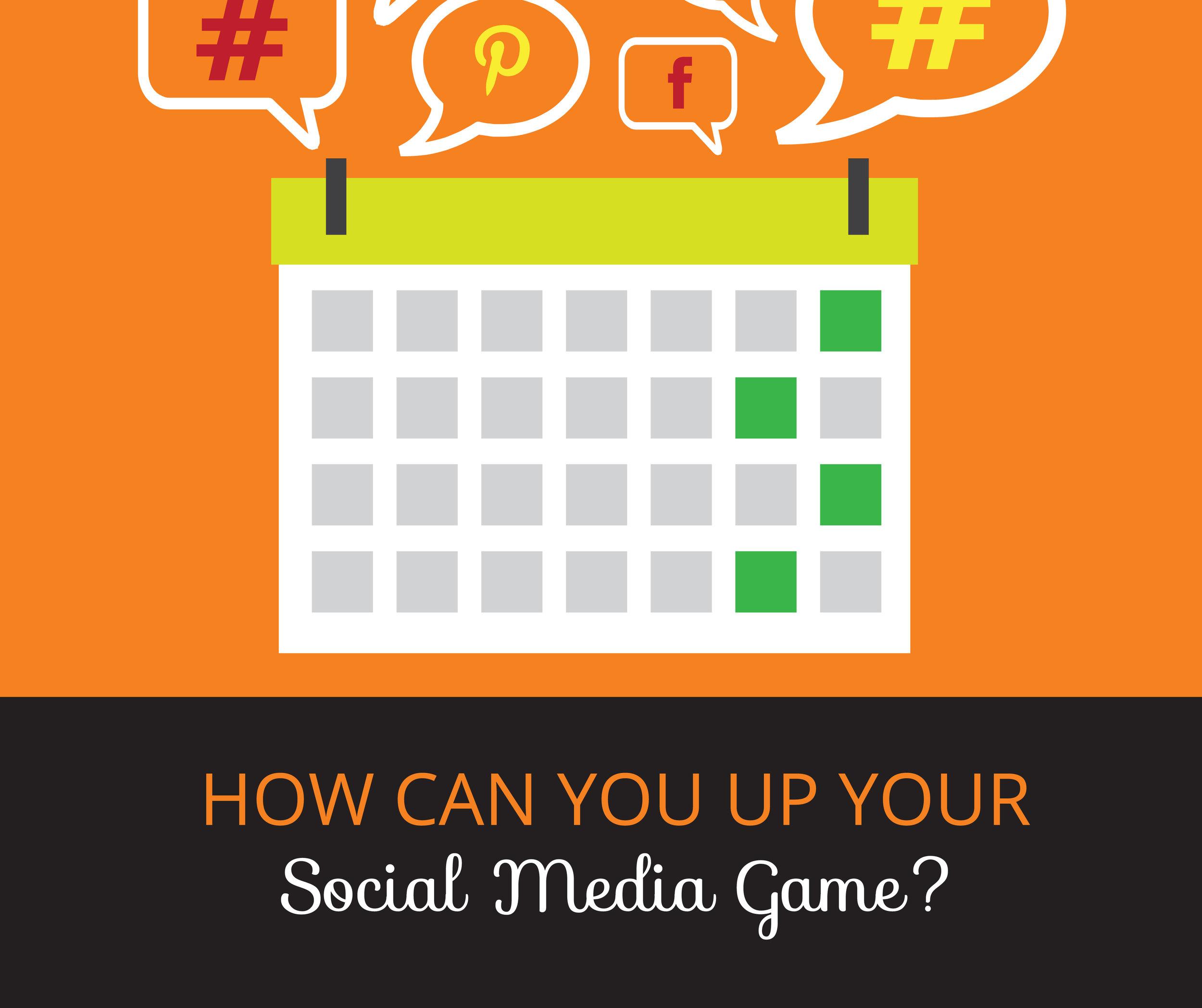Increase engagement & activity on Social Media. Small business social media tips.