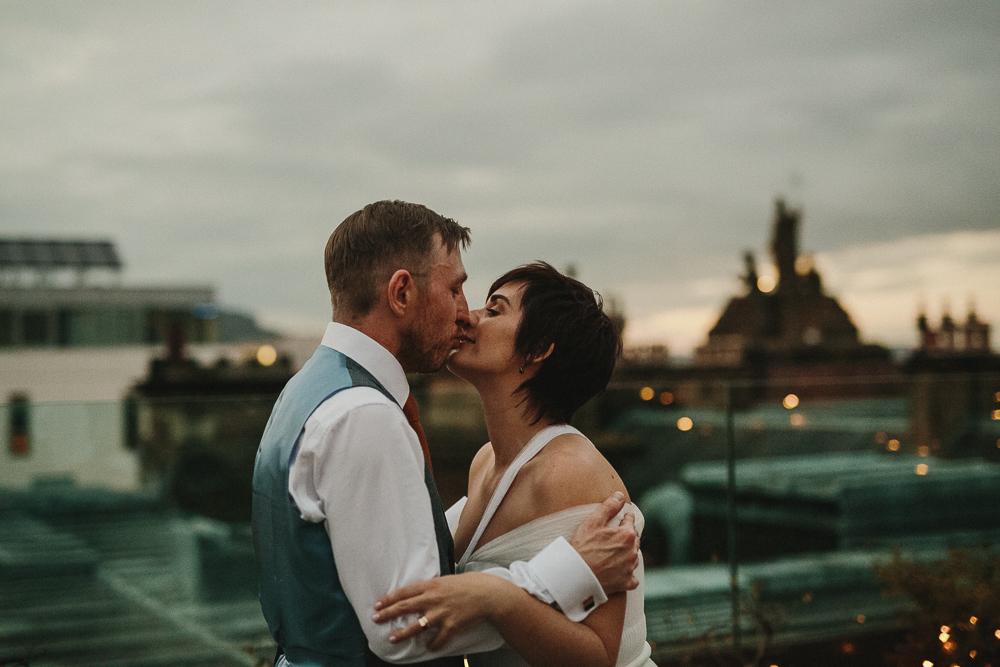 Nuala & Caolan's - Roof top wedding