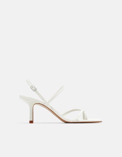 Mid Heel Sandals, £55.99, Zara