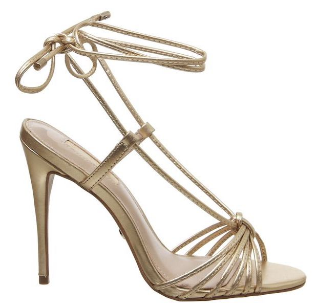 Multi Strap Gold Sandal, £69, Office