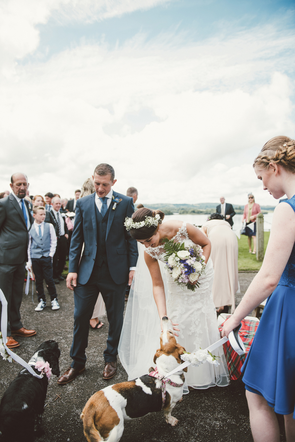 Puppy Love …  For some, pets are family too. Invite you're favourite canine friends along to be part of your special day.  Image Credit   Paula Gillespie