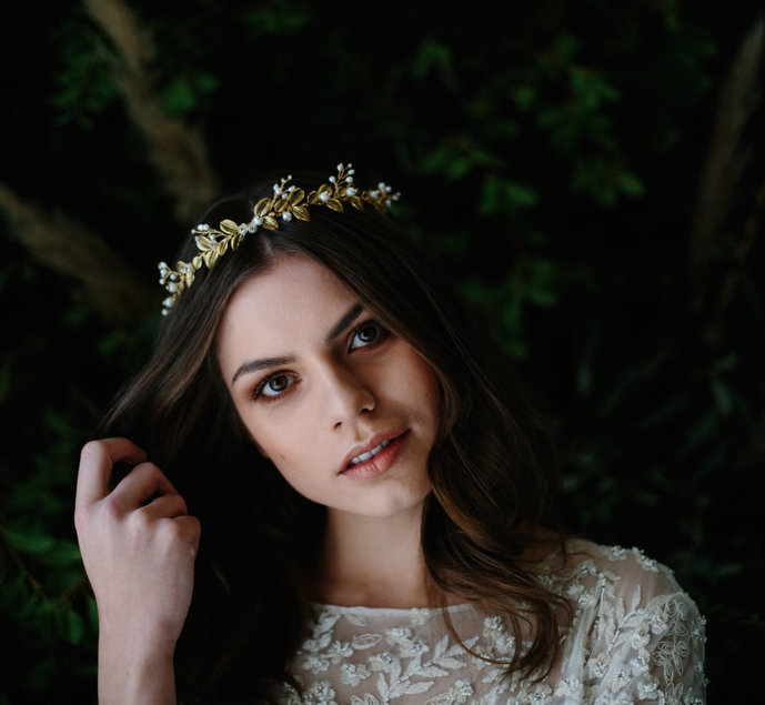 Enya Crown   Blue Meadow Bridal
