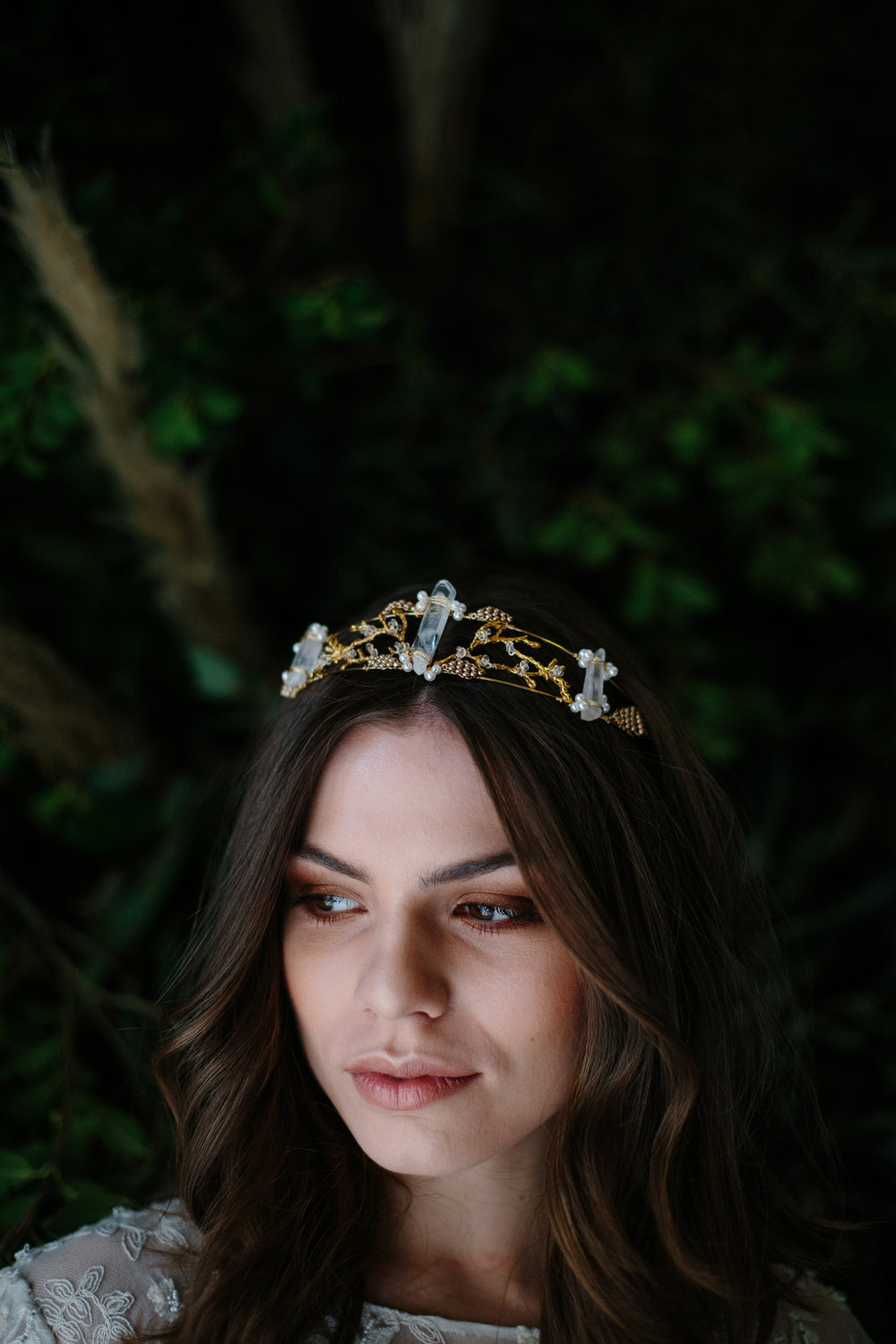 Mimi Crown by Blue Meadow Bridal