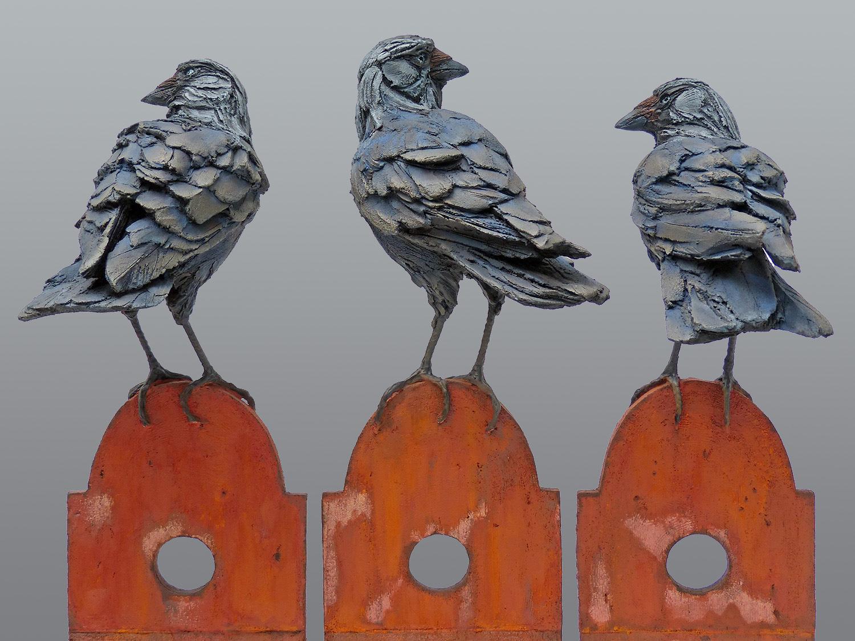 Three Watchers  ©   Text☰