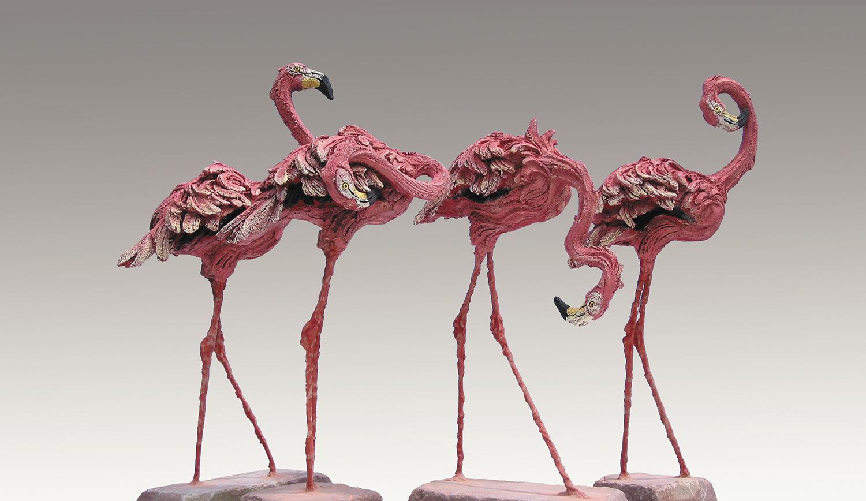 Flocking Pink  ©   Text☰