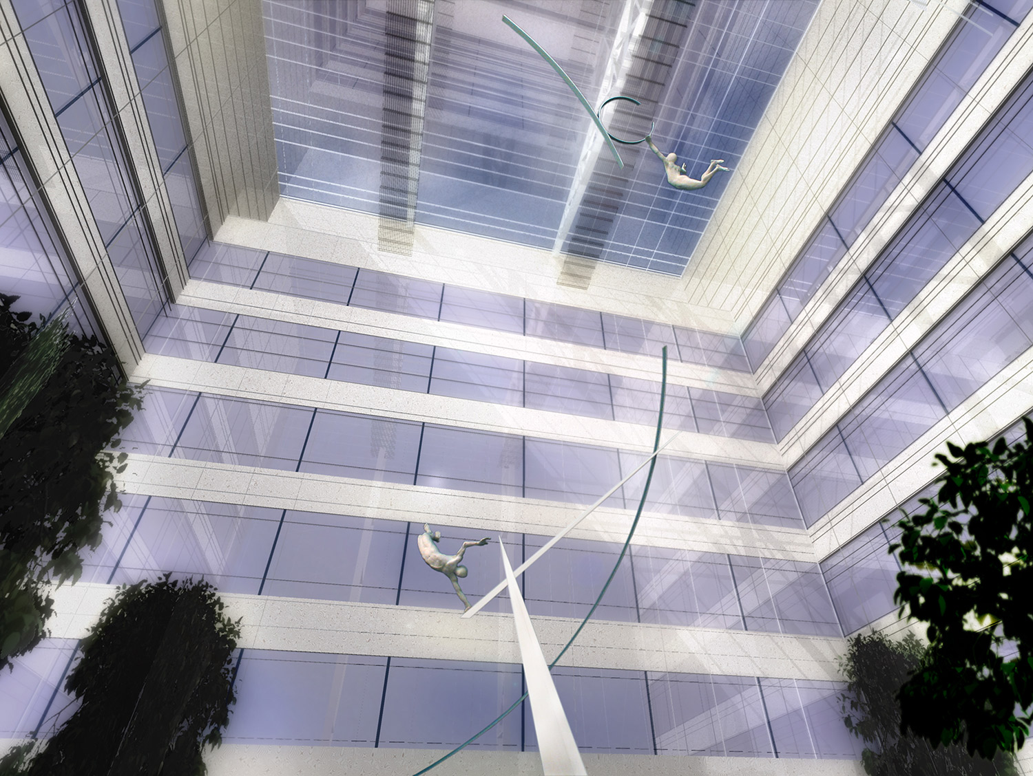 Archimedes Dream. 7. Canary Wharf. Pierre Diamantopoulo. Copyright.jpg