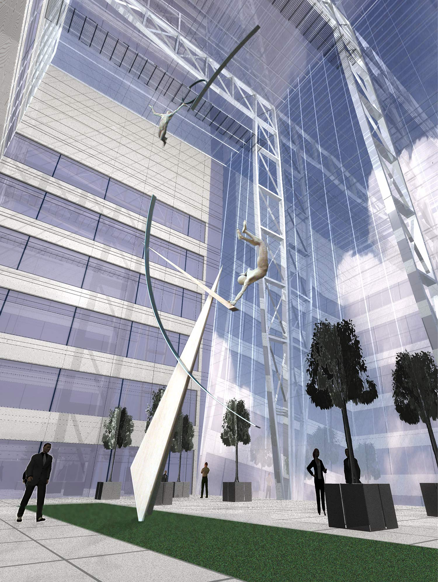 Archimedes Dream. 1. Canary Wharf. Pierre Diamantopoulo. Copyright.jpg