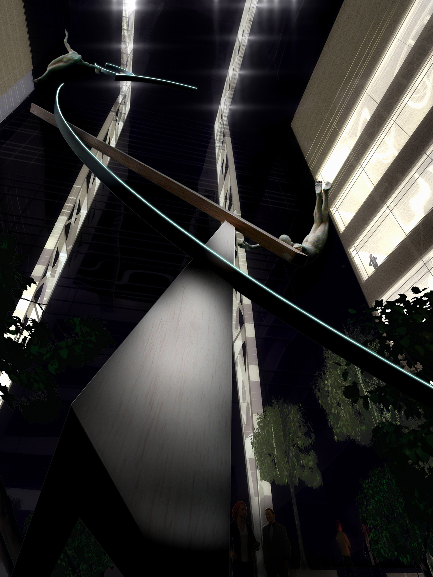 Archimedes Dream. 6. Canary Wharf. Pierre Diamantopoulo. Copyright.jpg