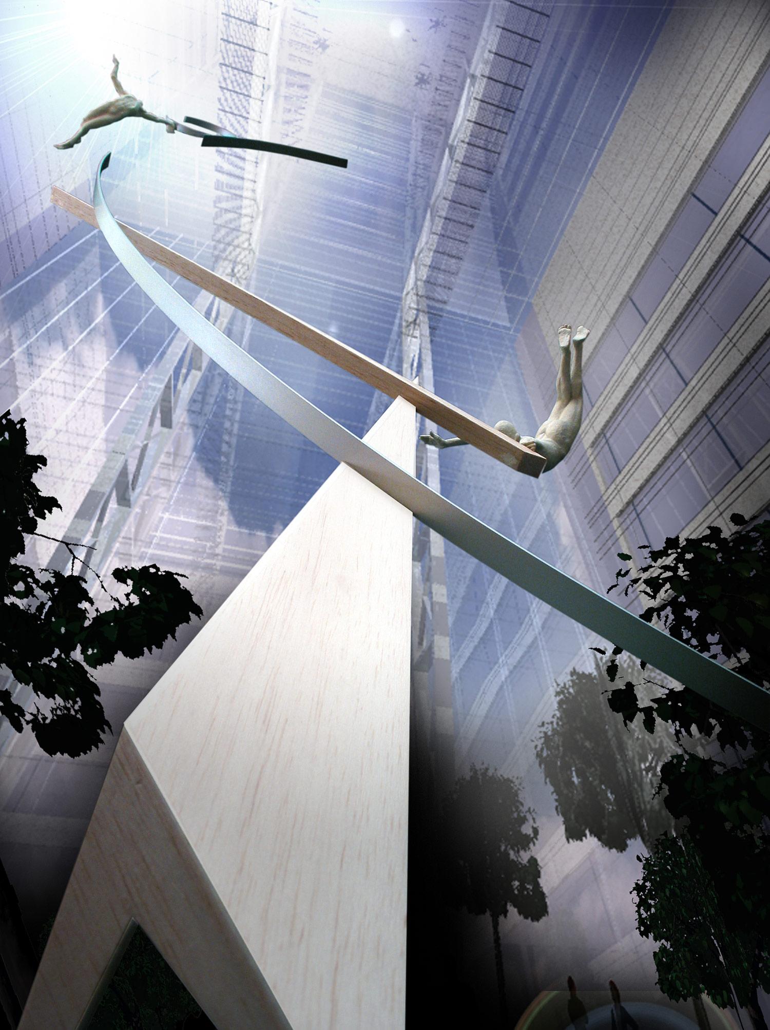 Archimedes Dream. 8. Canary Wharf. Pierre Diamantopoulo. Copyright.jpg