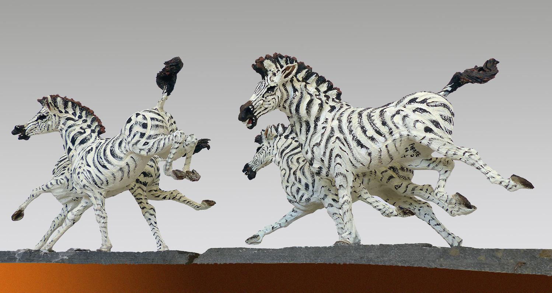 Zebra Crossing  ©  43 cm high x 229 cm wide  Unique