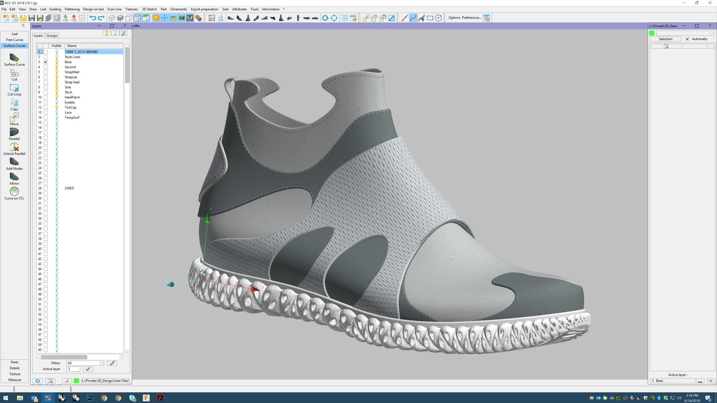 Shoe Design Cody Thurston