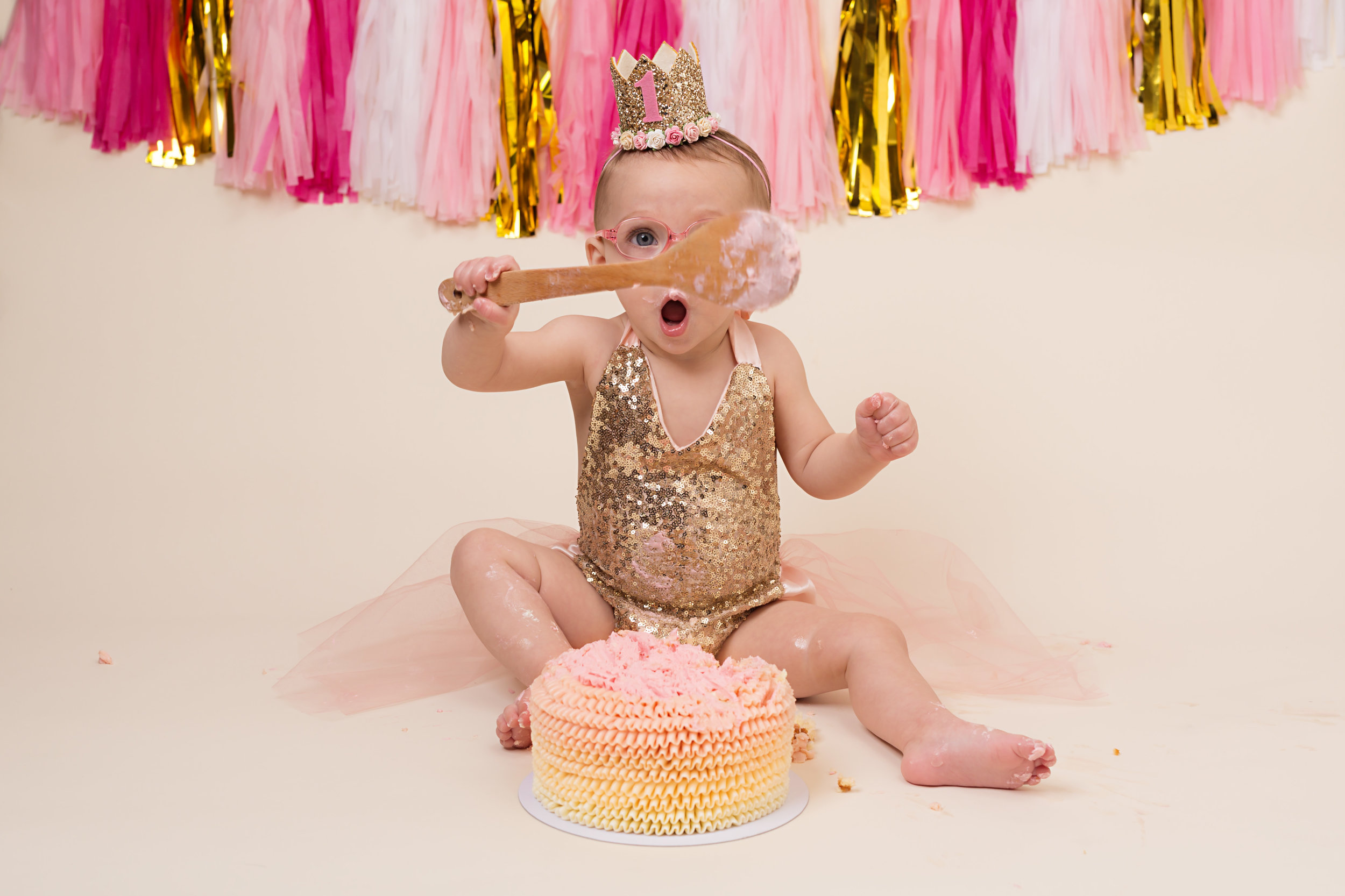 Cake smash photography, Wellington, Taunton, Somerset..jpg