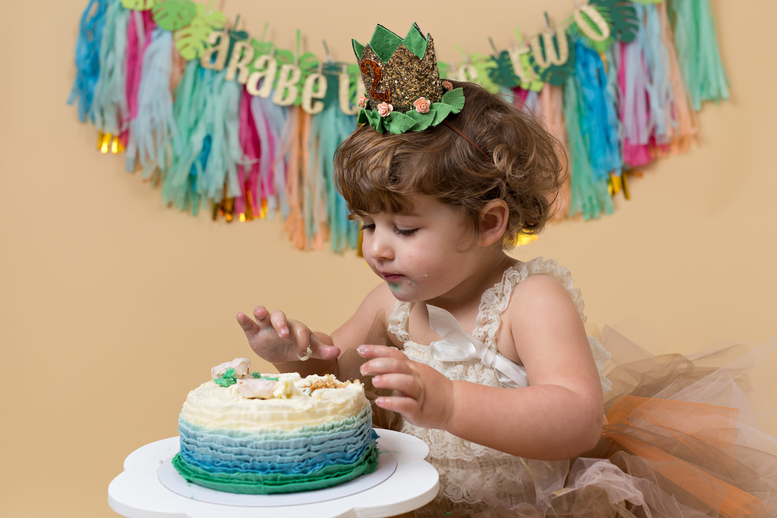 Cake smash photography-Taunton, Somerset. Wellington. .jpg