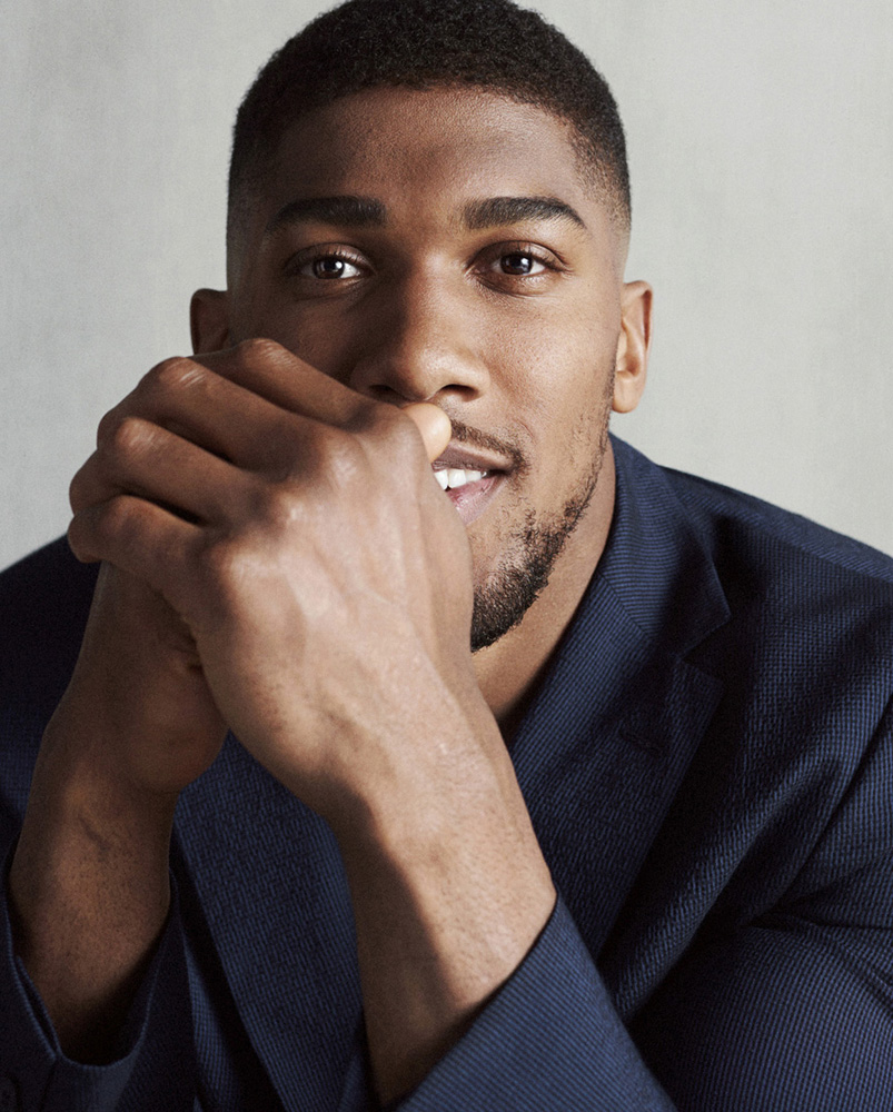 ANTHONY JOSHUA // HUGO BOSS EDITION