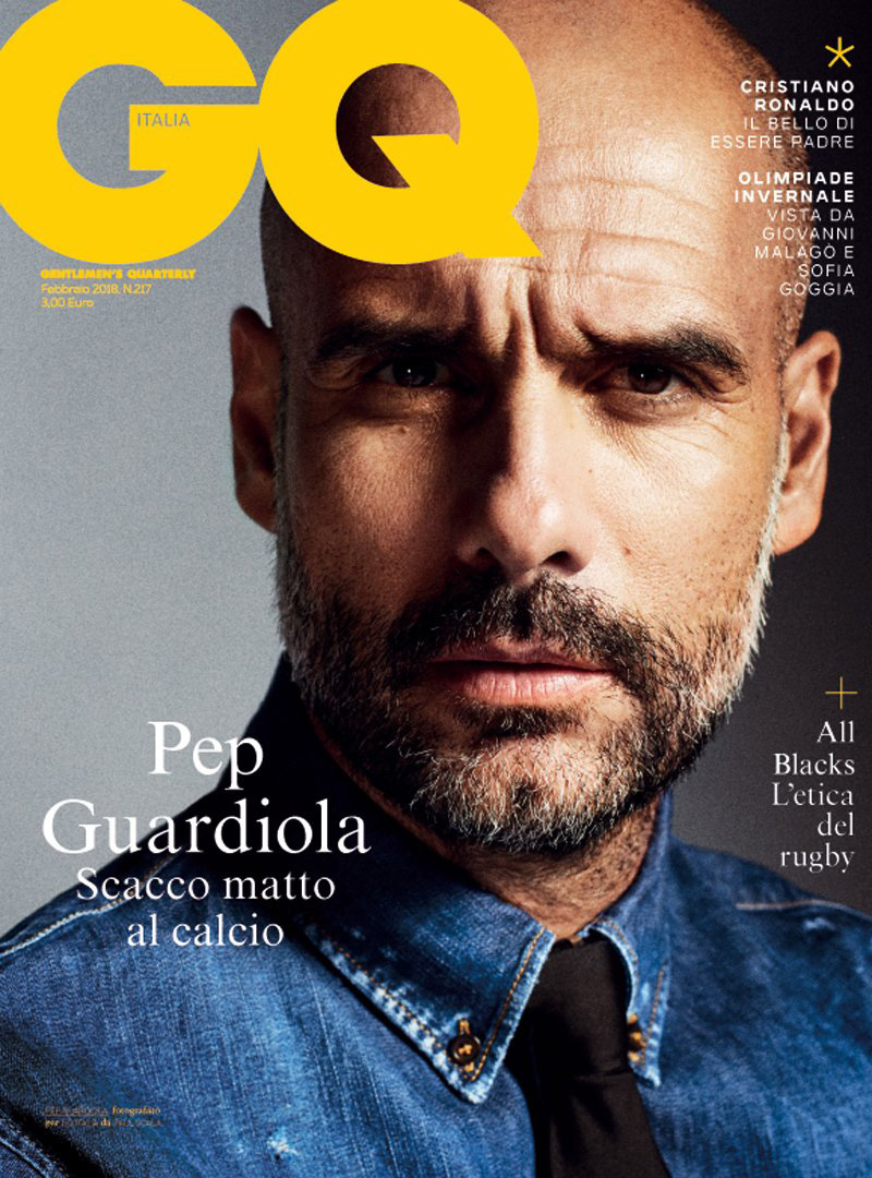 GQ ITALIA // PEP GUARDIOLA