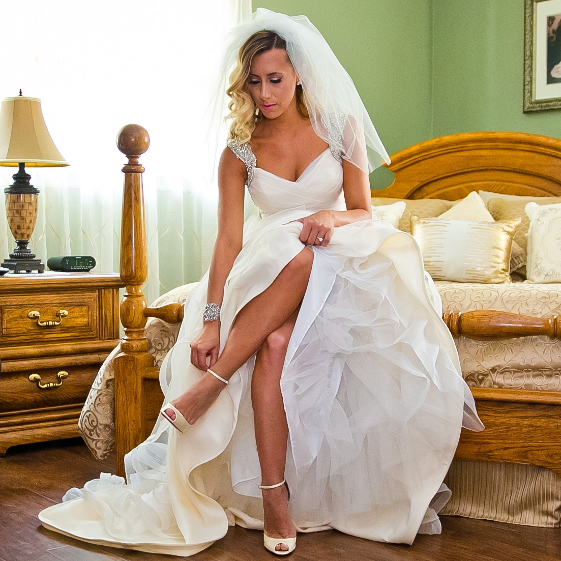 """Angela"" Bridal Veil"