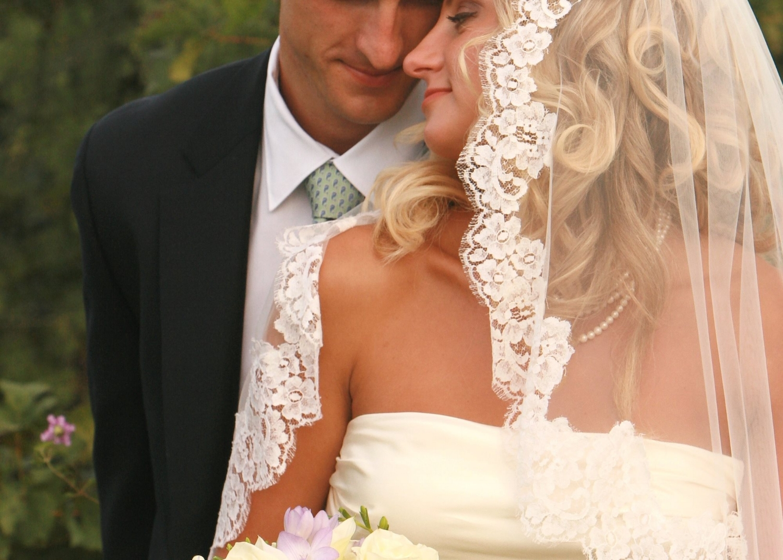 Custom Lace Bridal Veil