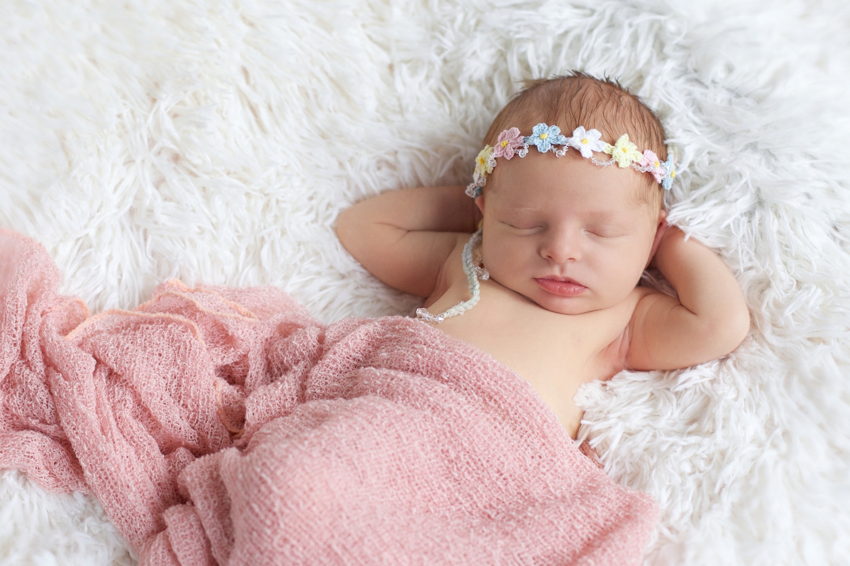 Custom Baby Accessories NJ NYC Newborn Headbands Christening Shoes Newborn Portrait Wear