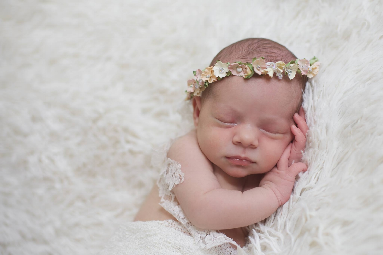 """Phebe"" Newborn Headband"