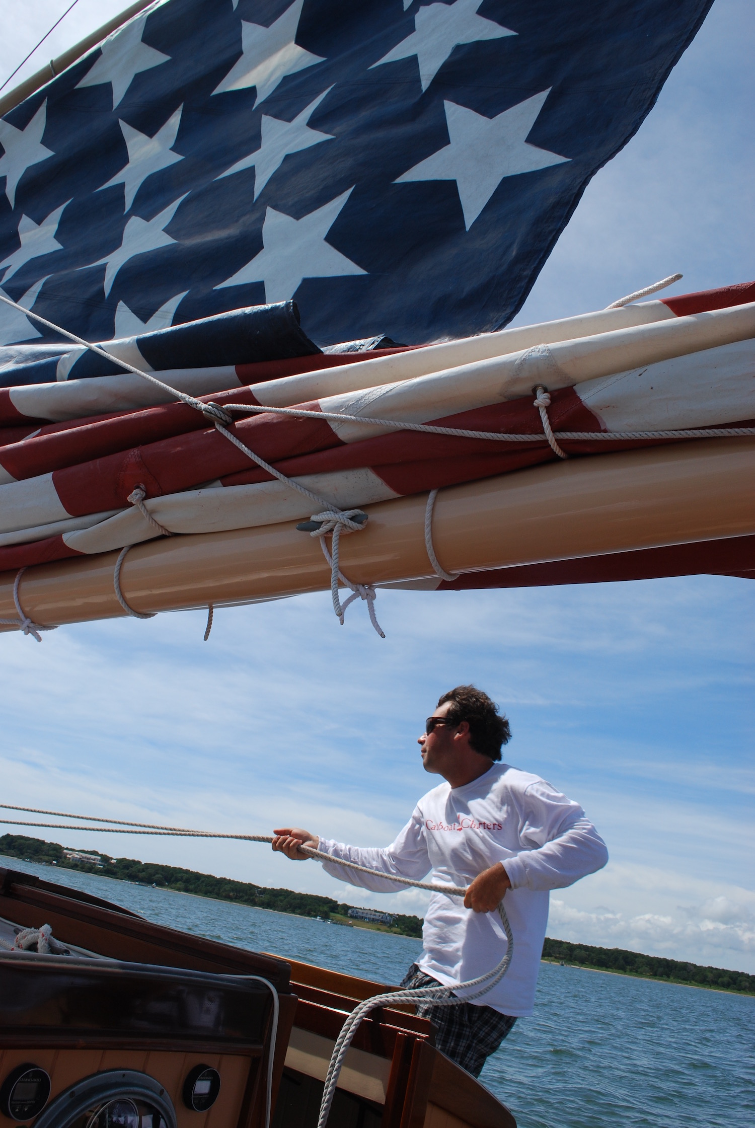 Captain Kurt ...Knowledgeable, skilled, entertaining, and just a great guy. This was one of the best experiences we ever had on Martha's Vineyard!