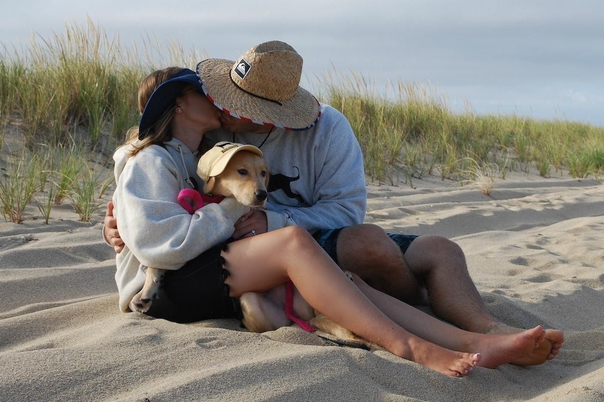 A kiss on Chappaquiddick.