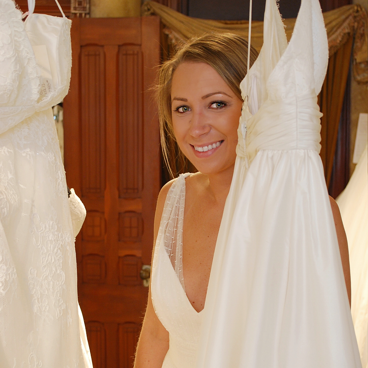 """The """"Enchanting"""" gown from Astrid and Mercedes."""
