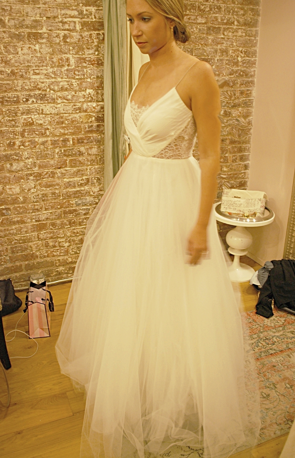 Loved the geometric nature of this dainty bodice!