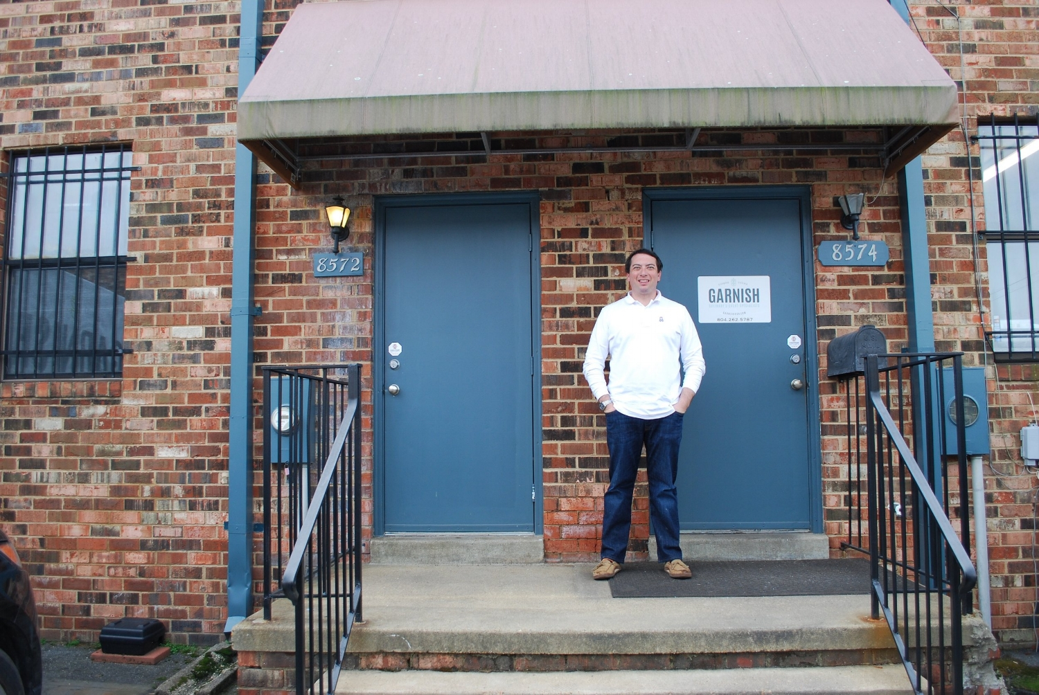 Meet Louis Campbell the owner of  Garnish Catering .
