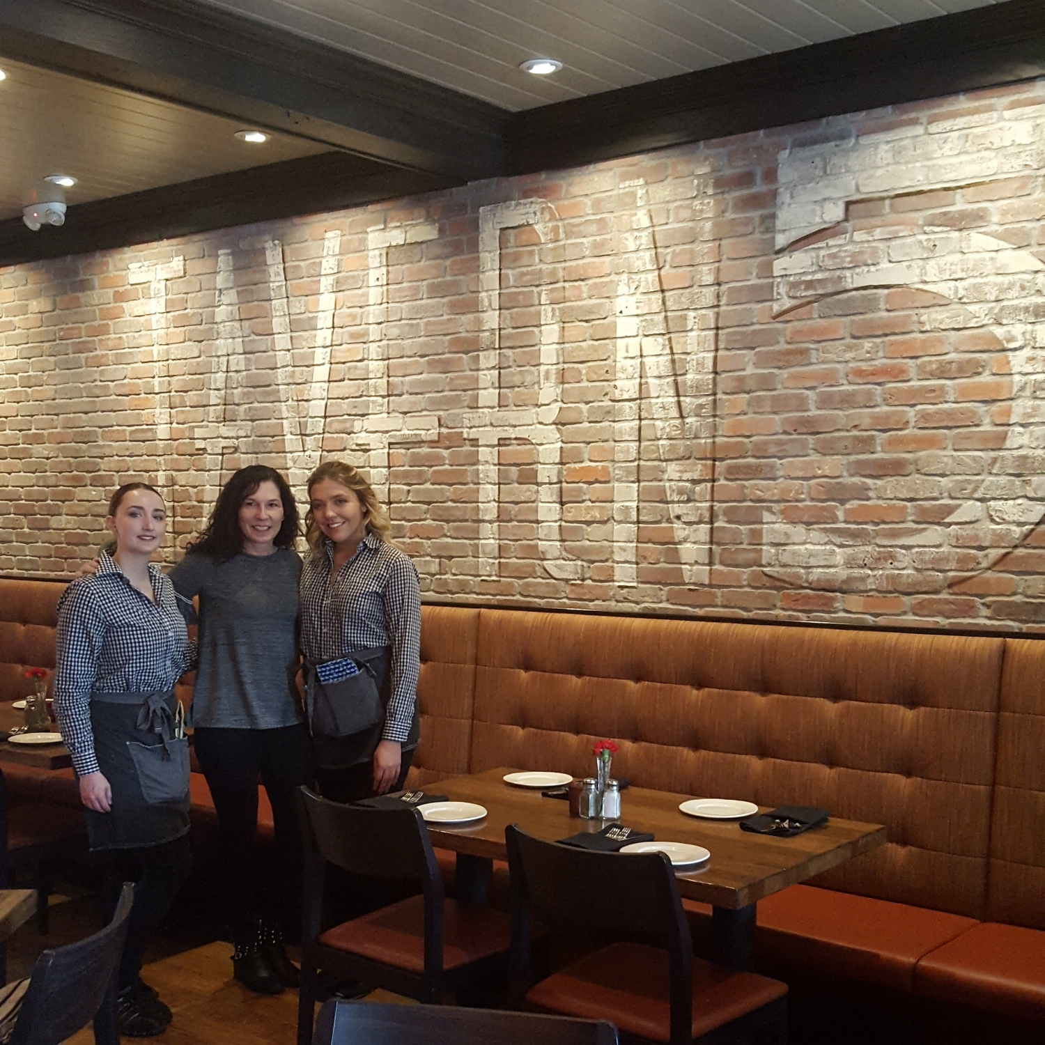 You will always find a welcoming staff at Tavern 5. I consider Tori and Erblina my Tavern 5 daughters. Brunch begins at 11 a.m. and we were the first to arrive. We had so much more to accomplish before Brielle, Candace, and Aubrey headed back home.