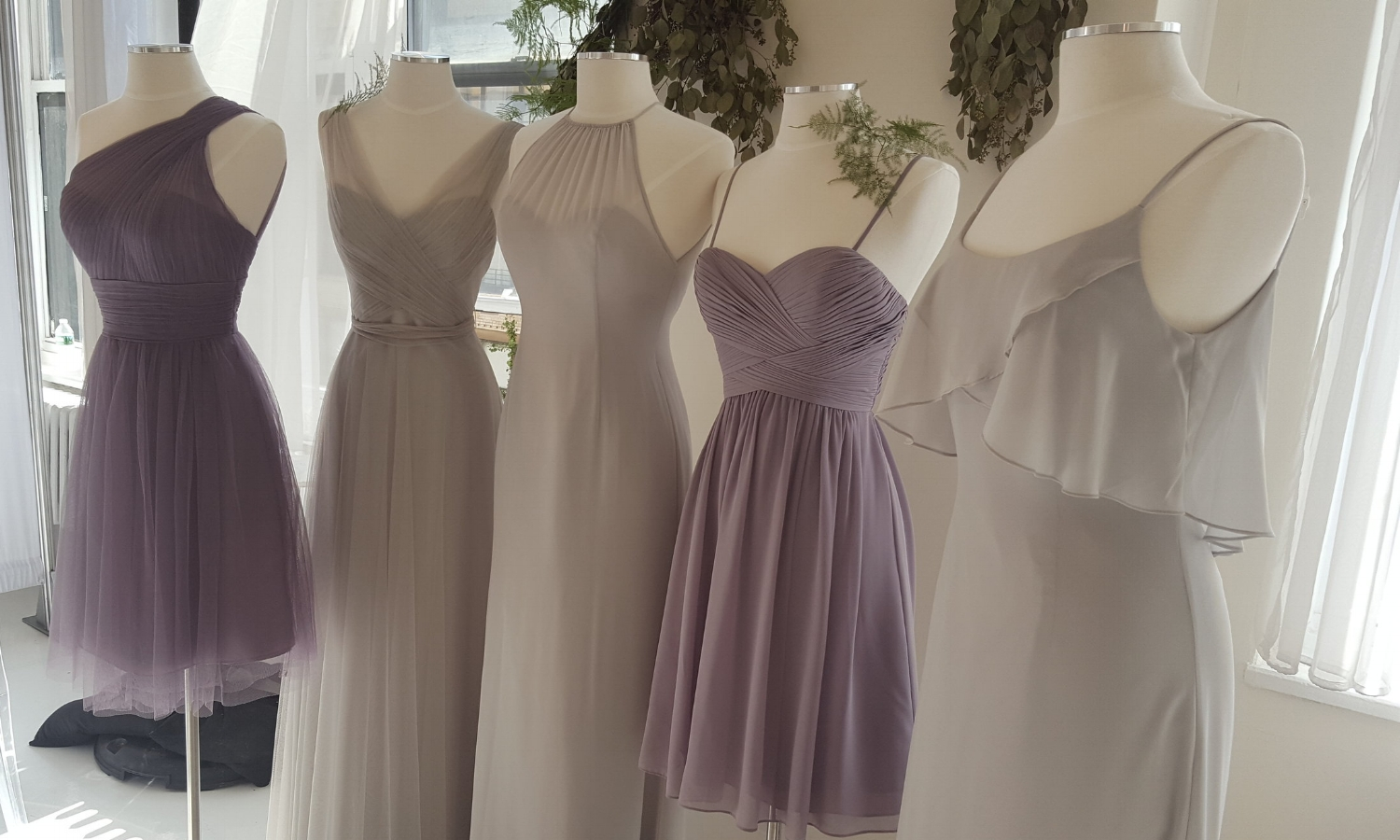 Wtoo  was a favorite of mine. Their soflty tailored bodice designs are gorgeous and flattering.
