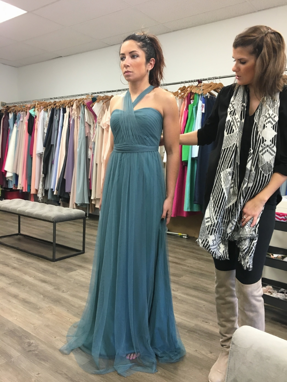 This gown was stunning on Aubrey!