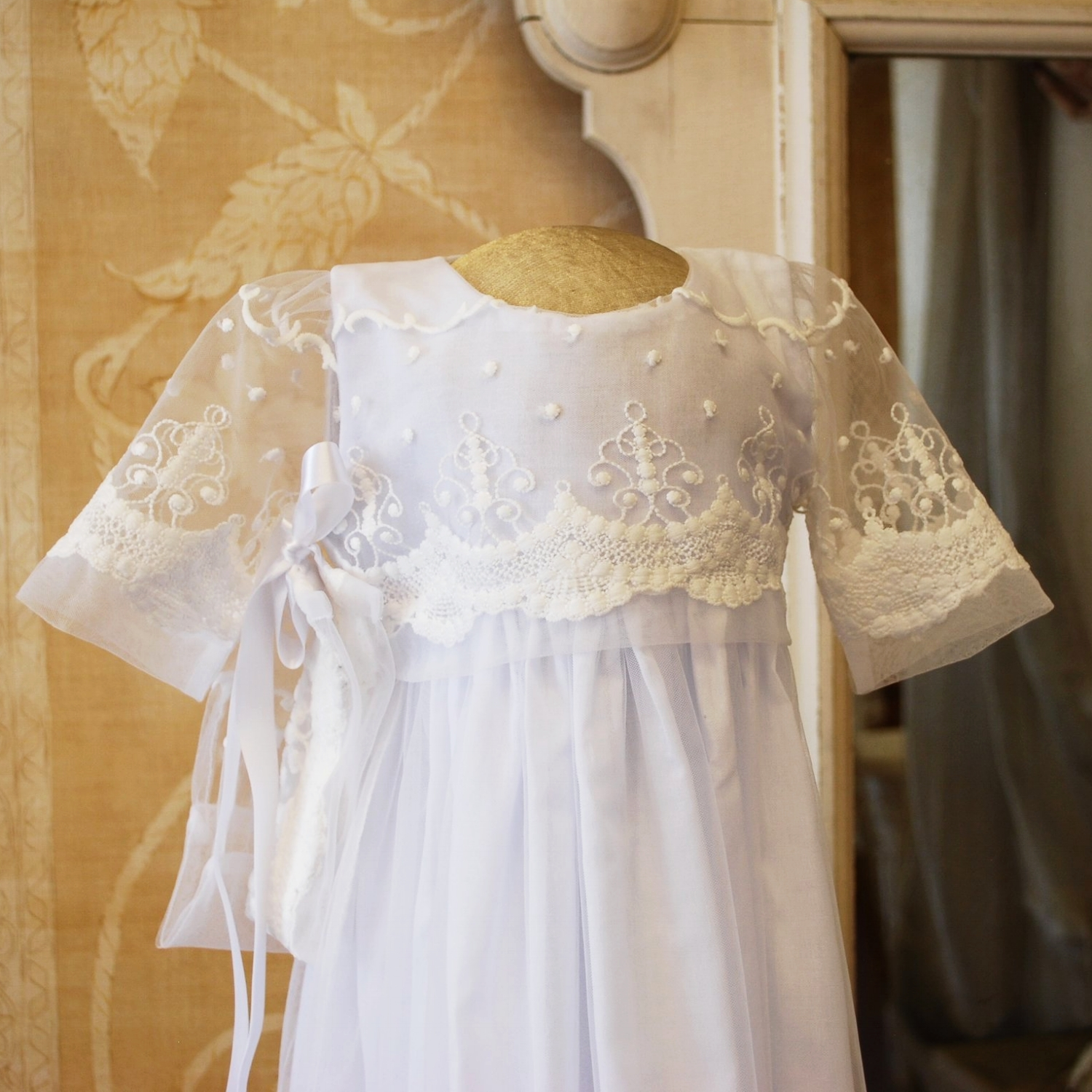 Blessing Christening Gown by Isabel Garreton
