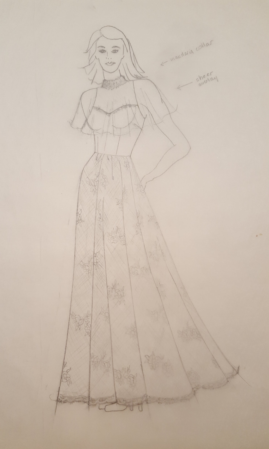 I love the idea of a mandarin collar! Pippa took some heat for her recent wedding gown design. Many in the fashion world said they were disappointed---they expected more. I was thrilled to see a lace collar on her gown. We can always count on royalty to bring back beautiful classic fashion elements.