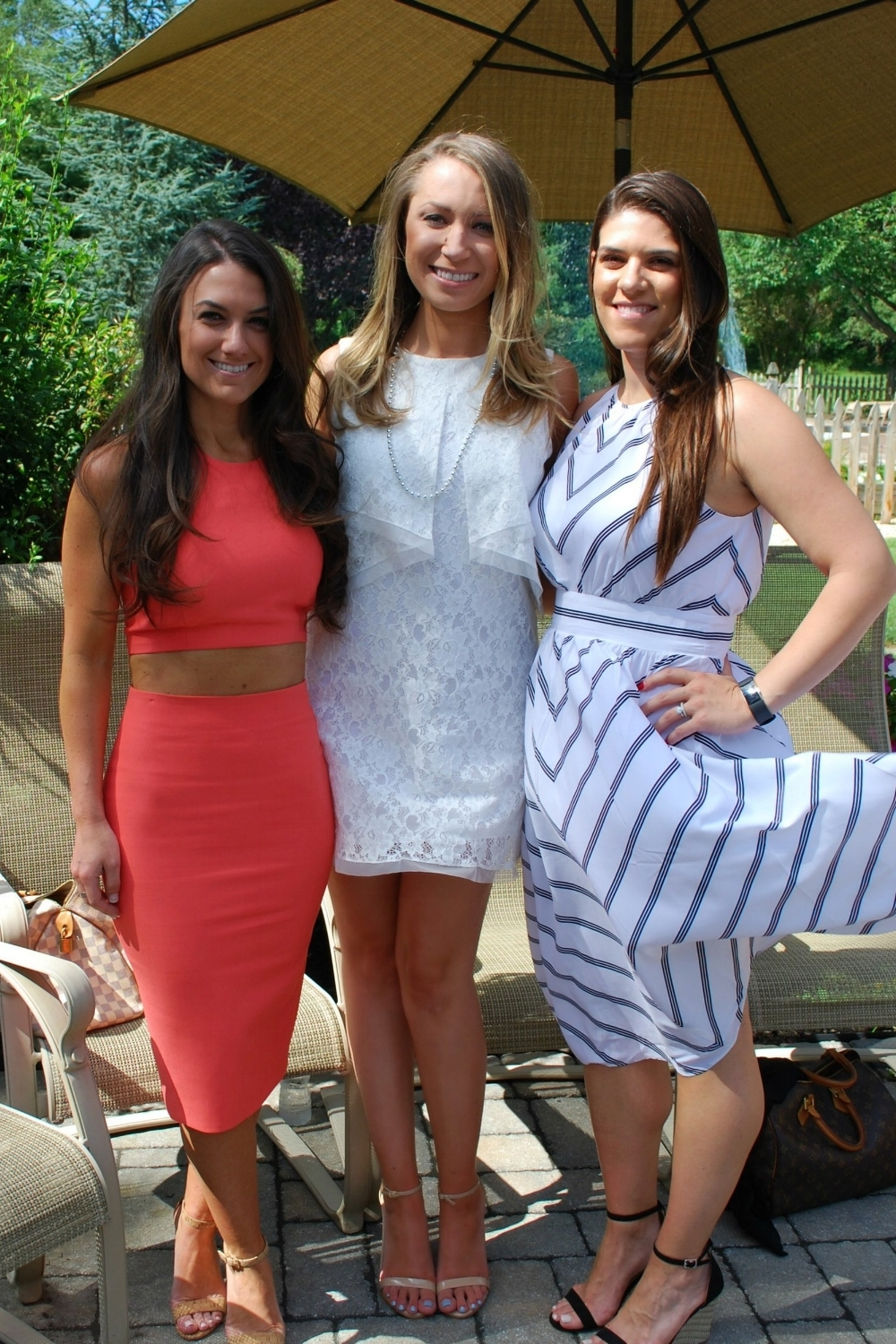 Brielle's Oak Knoll classmates and teammates surprised her on her shower day.Lauren is also engaged and Christie is married and expecting a baby girl in December.